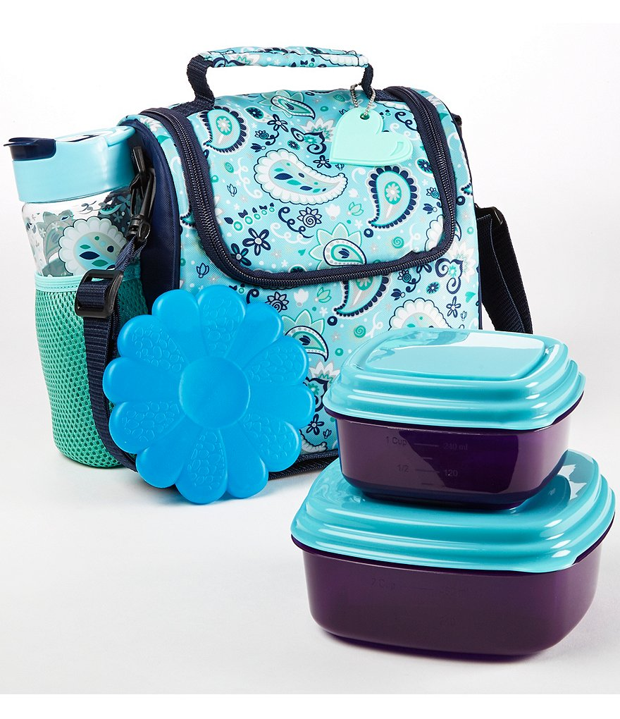 Fit & Fresh Melissa Paisley Jubilee Lunch Kit