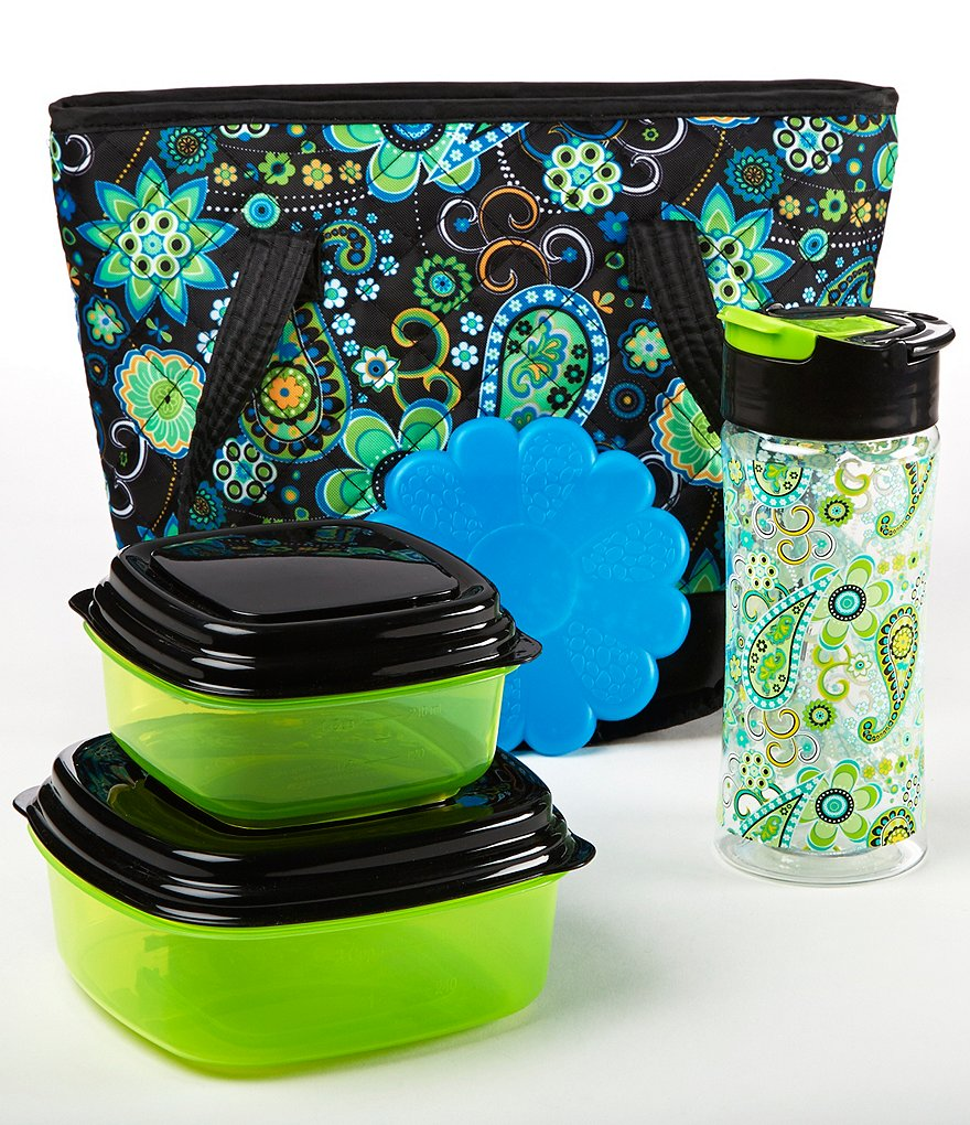 Fit & Fresh Anna Green Paisley Lunch Kit
