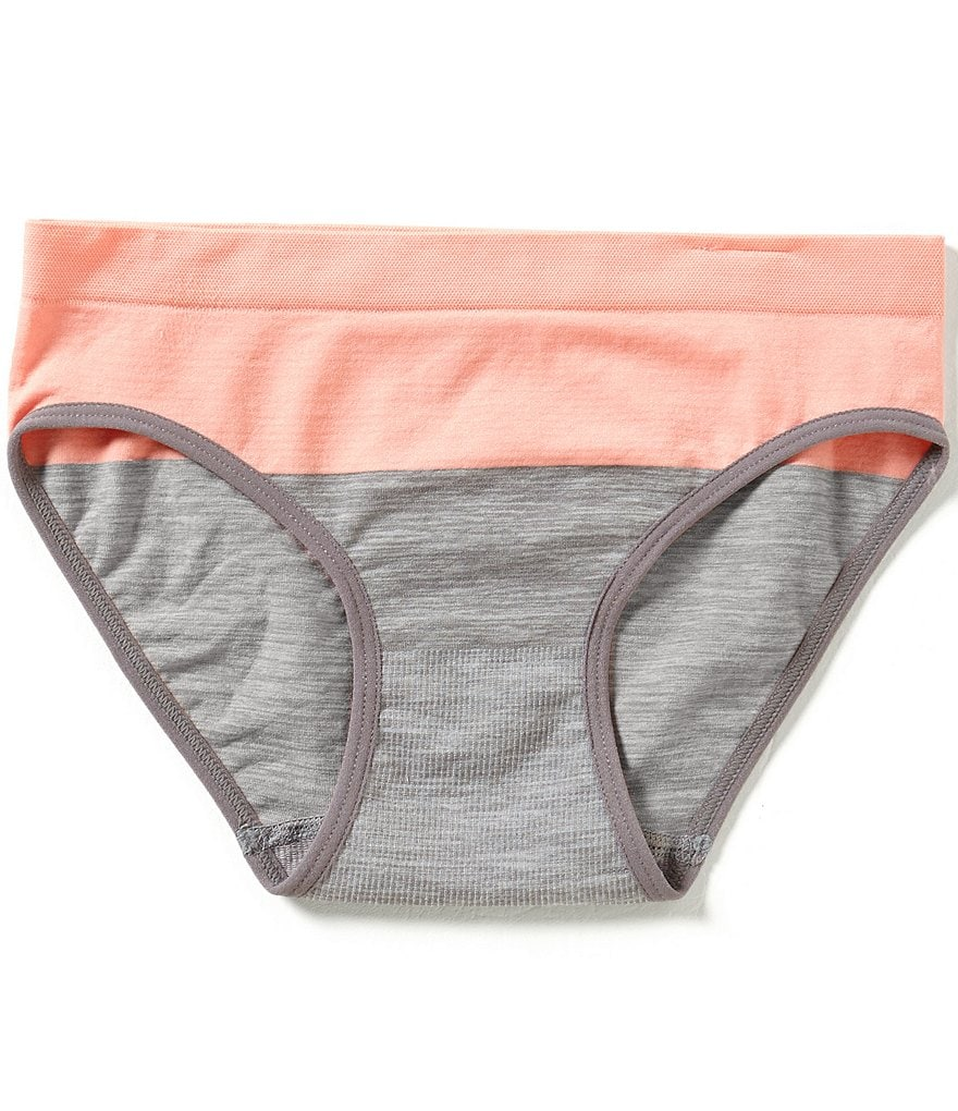 GB Girls Big Girls 7-16 Seamless Colorblock Hipster