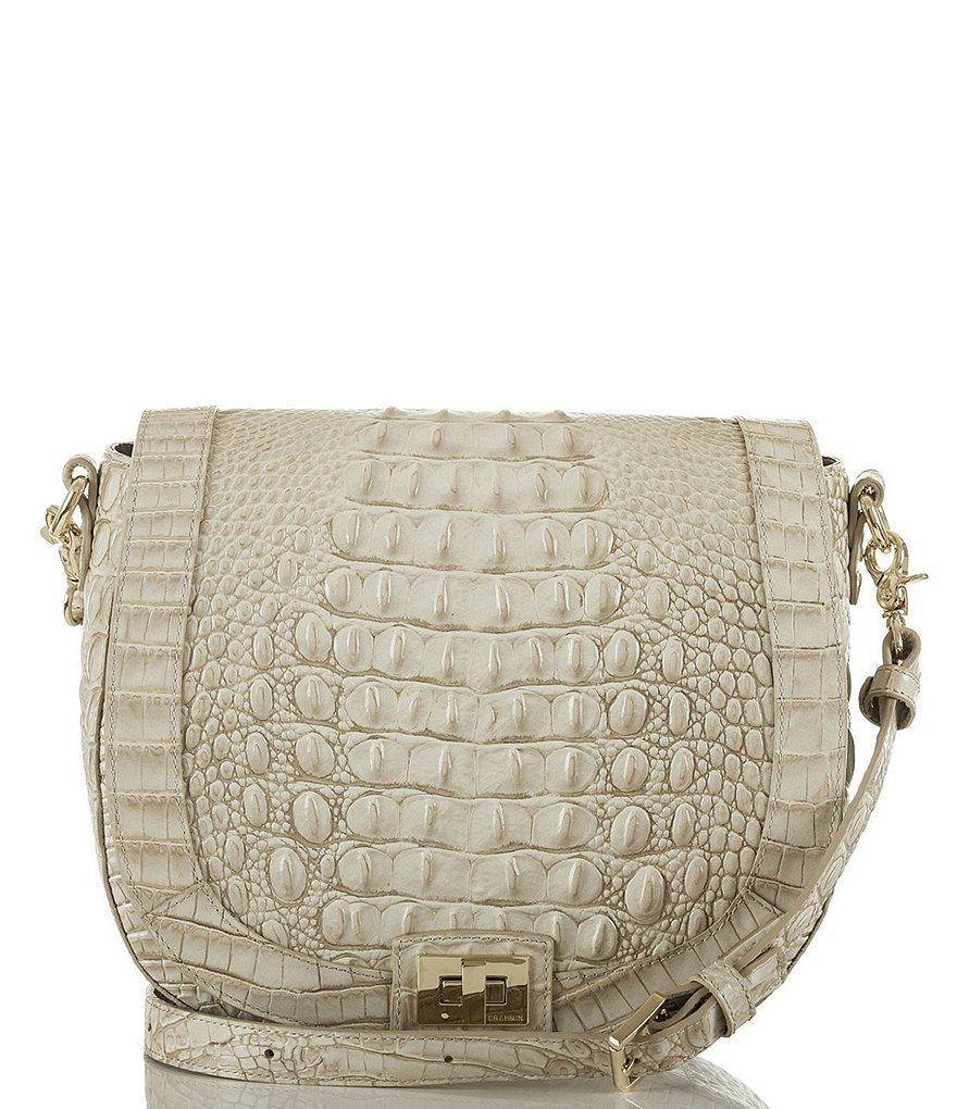 Brahmin Melbourne Collection Sonny Saddle Bag