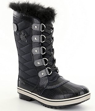 SOREL® Girls´ Waterproof Cold Weather Faux Fur Tofino™ II Boots