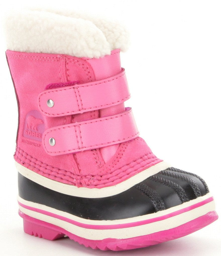 SOREL® Kids Waterproof Cold Weather 1964 Pac Strap Girls´ Boots