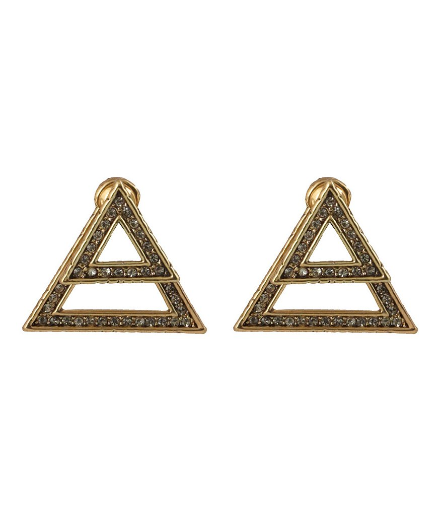 House of Harlow 1960 Golden Hour Ear Jacket Earrings