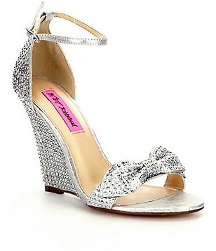 Betsey Johnson Delancyy Wedge Sandals