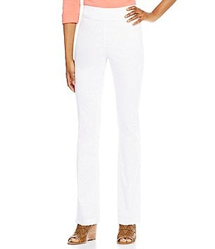 Westbound Petites the PARK AVE fit Classic Leg Pant