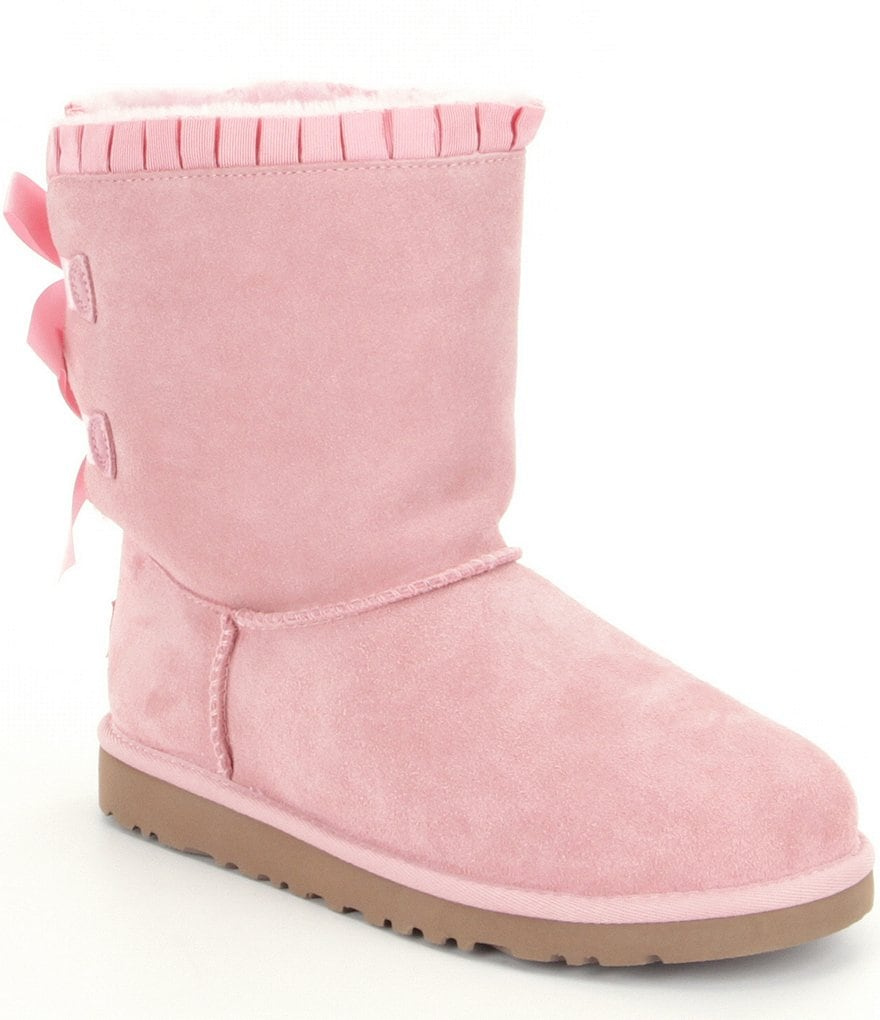 UGG® Girls´ Bailey Bow Ruffles Suede Boots