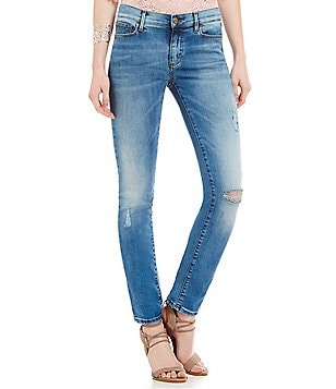 Buffalo David Bitton Faith Straight Mid Rise Jeans