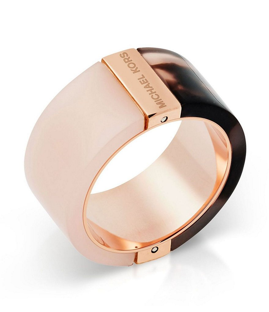 Michael Kors Color Block Barrel Ring