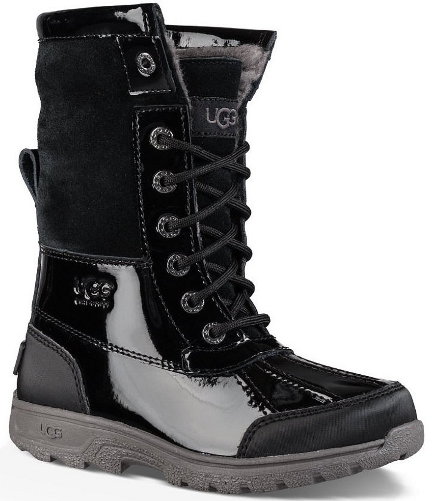 UGG® Girls´ Butte II Cold-Weather Waterproof Patent Boots
