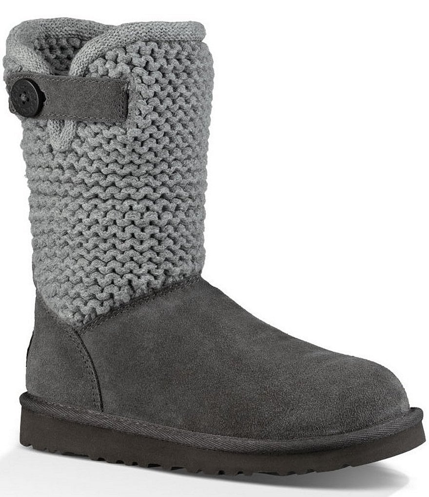 UGG® Girls´ Darrah Suede Knit Boots