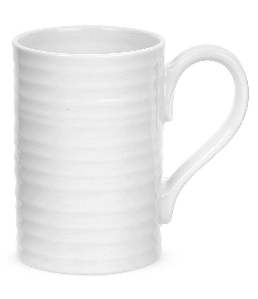 Sophie Conran for Portmeirion Ribbed Porcelain Tall Mug
