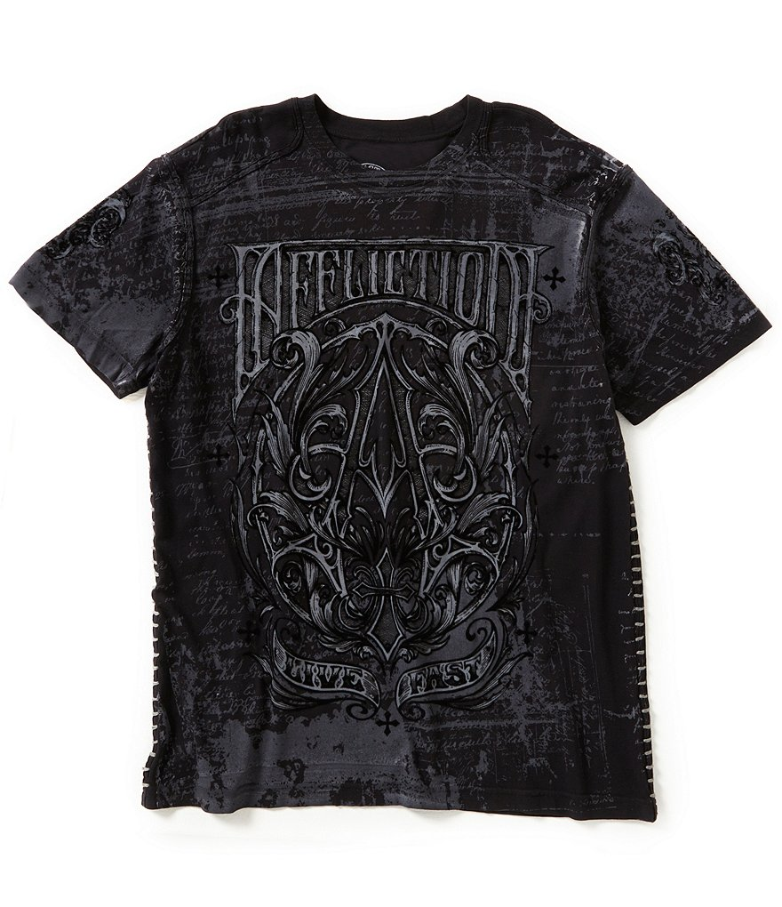 Affliction A Frame Short-Sleeve Graphic Tee