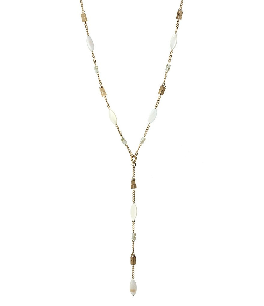 Kenneth Cole New York Mixed Shell Y-Necklace