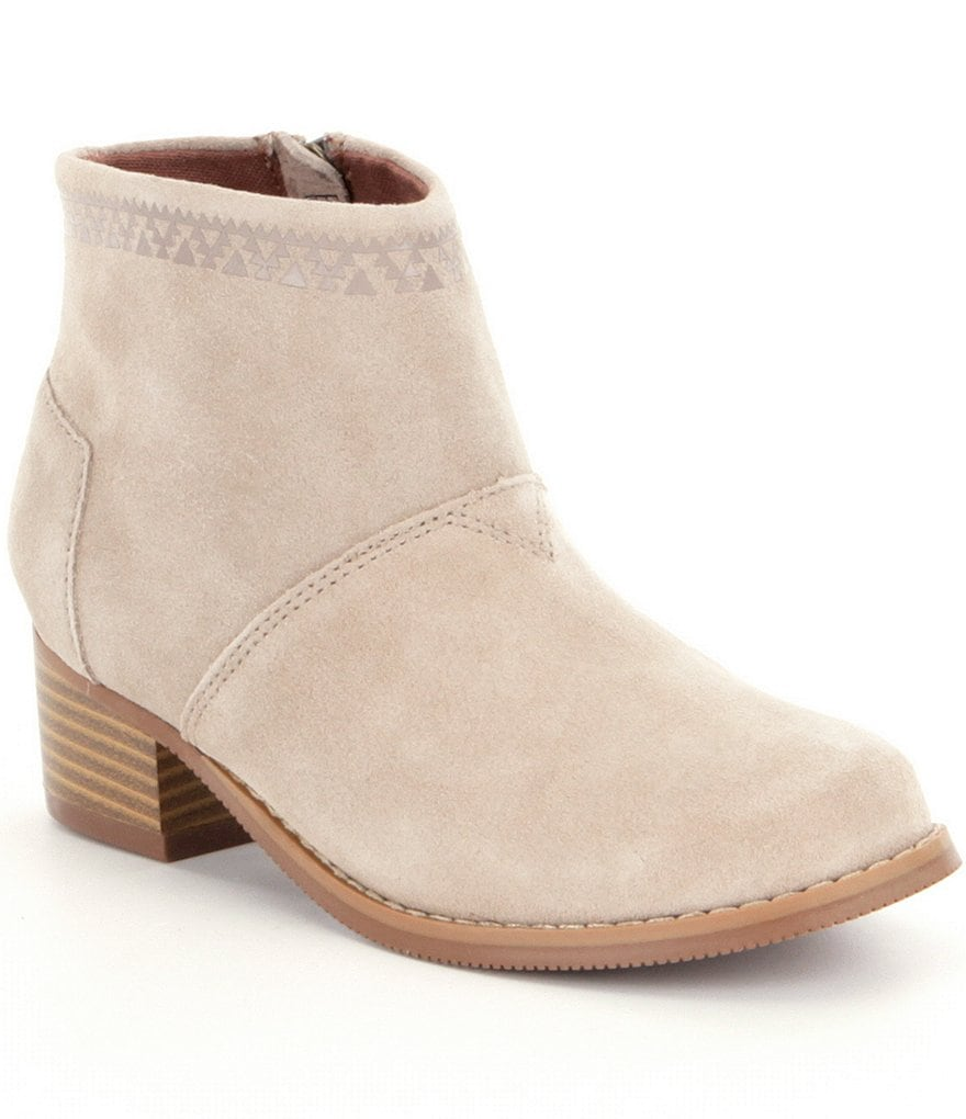 TOMS Girls´ Leila Suede Booties