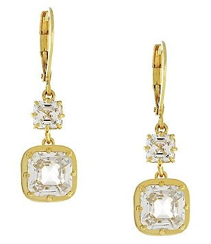 Louise Et Cie Cubic Zirconia Drop Earrings