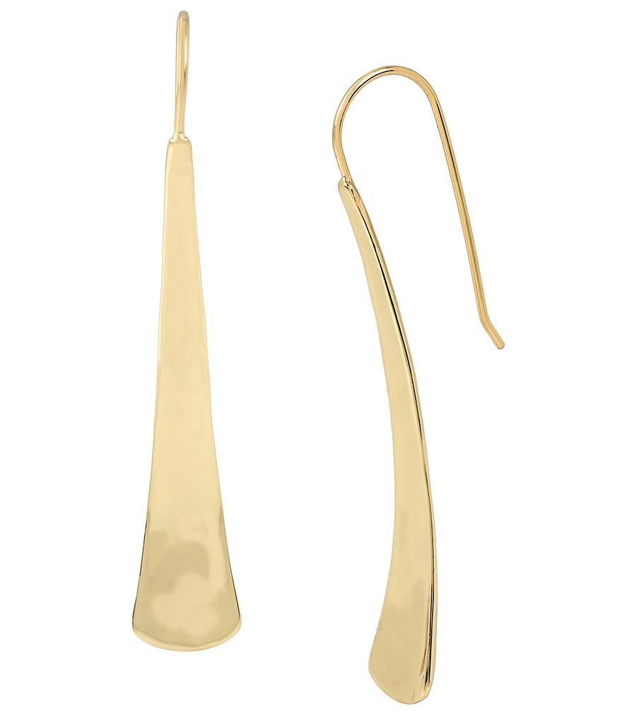 Robert Lee Morris Soho Sculptural Stick Linear Drop Earrings