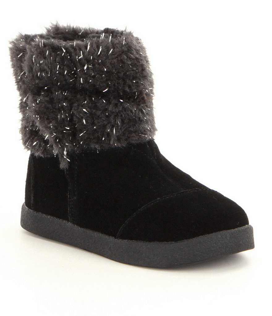TOMS Girls´ Faux Fur Nepal Boots