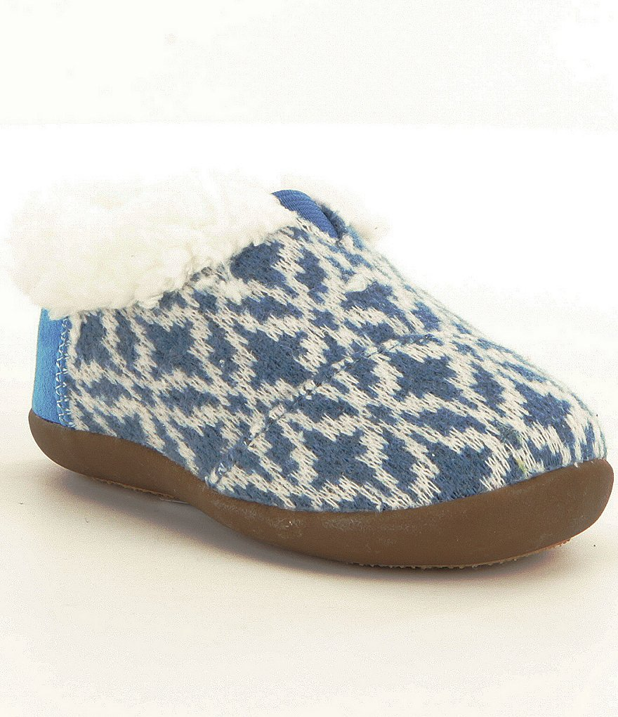 TOMS Kids´ Fair Isle Slippers