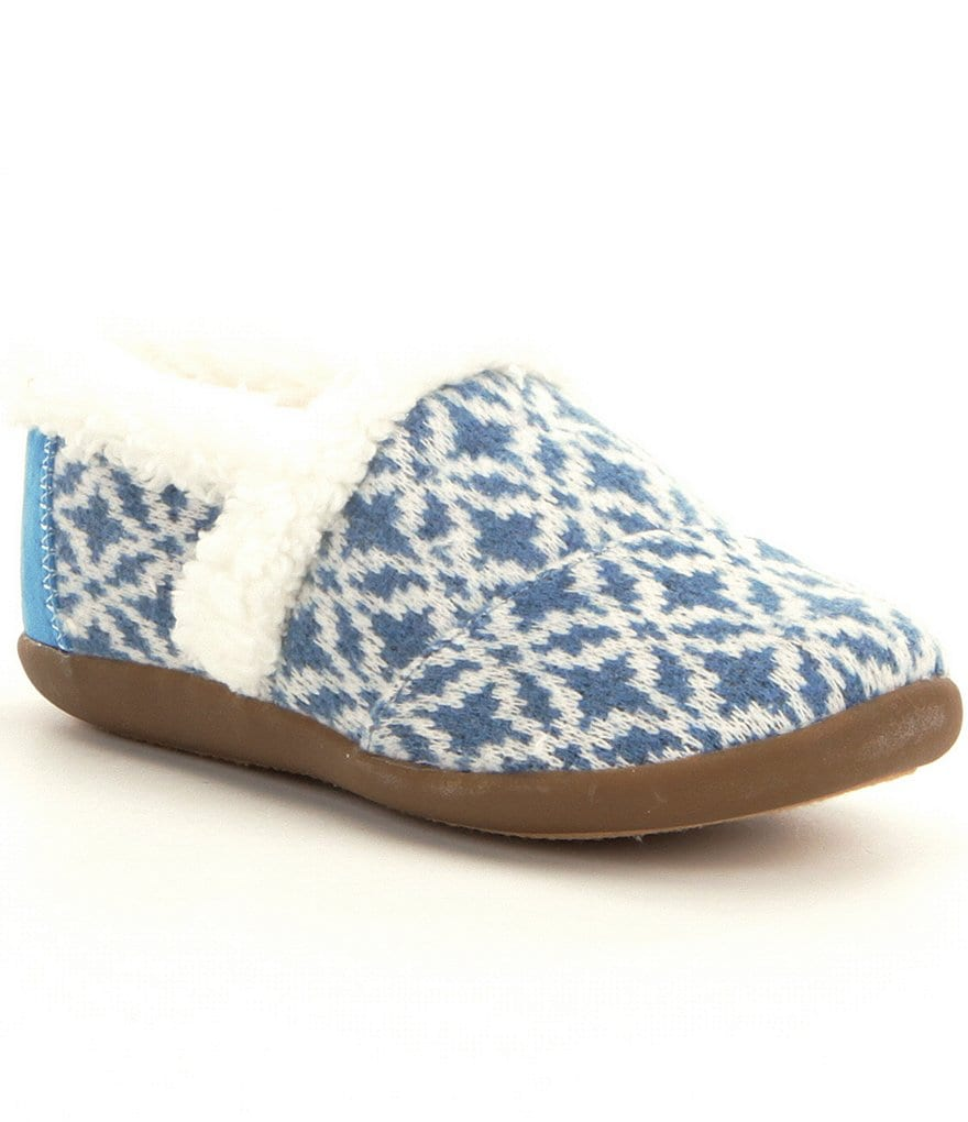 TOMS Boys´ Fair Isle Slippers