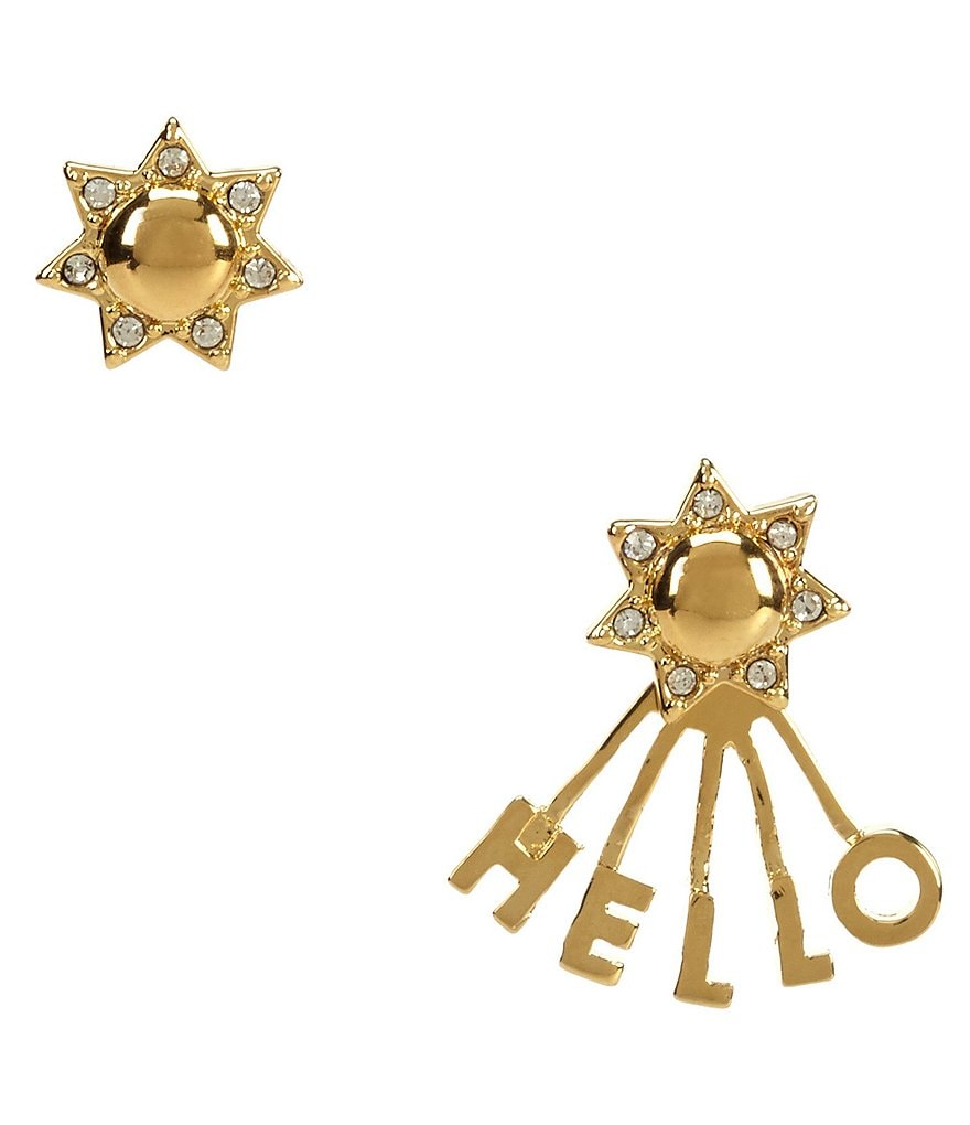 kate spade new york Say Yes Hello Sunshine Mismatched Earrings