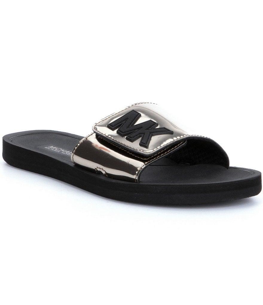 Black mk sandals - Black Mk Sandals 16