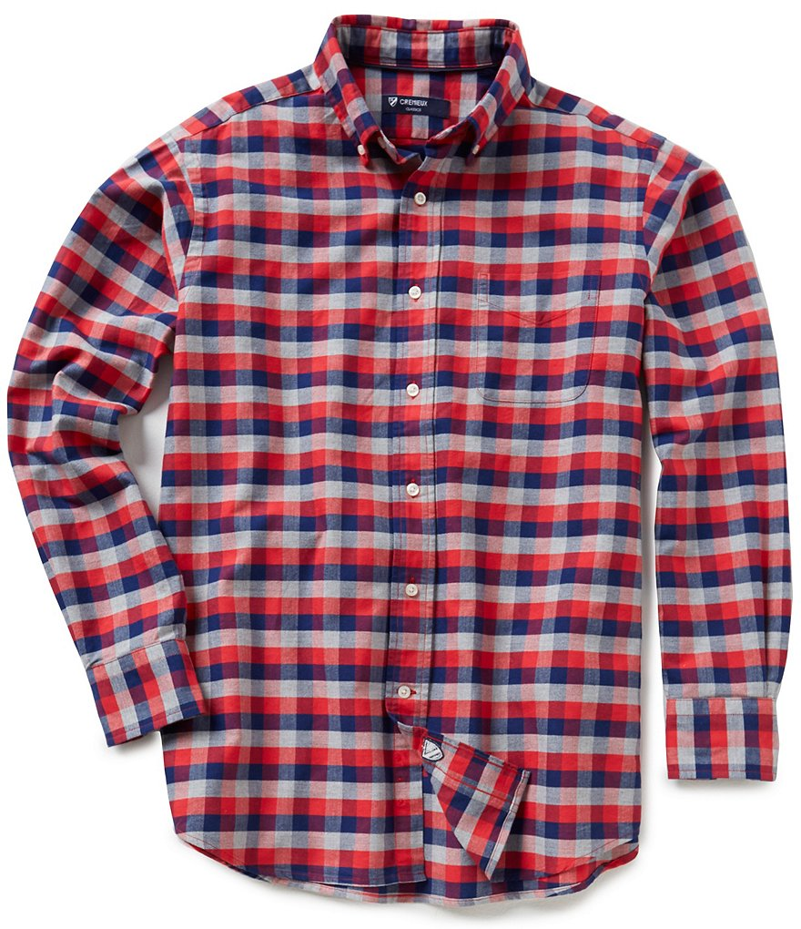Cremieux Checked Oxford Shirt