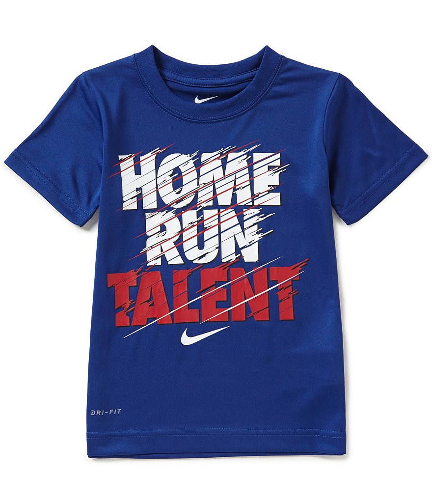 Nike Little Boys 4-7 Home Run Talent Short-Sleeve Graphic Tee