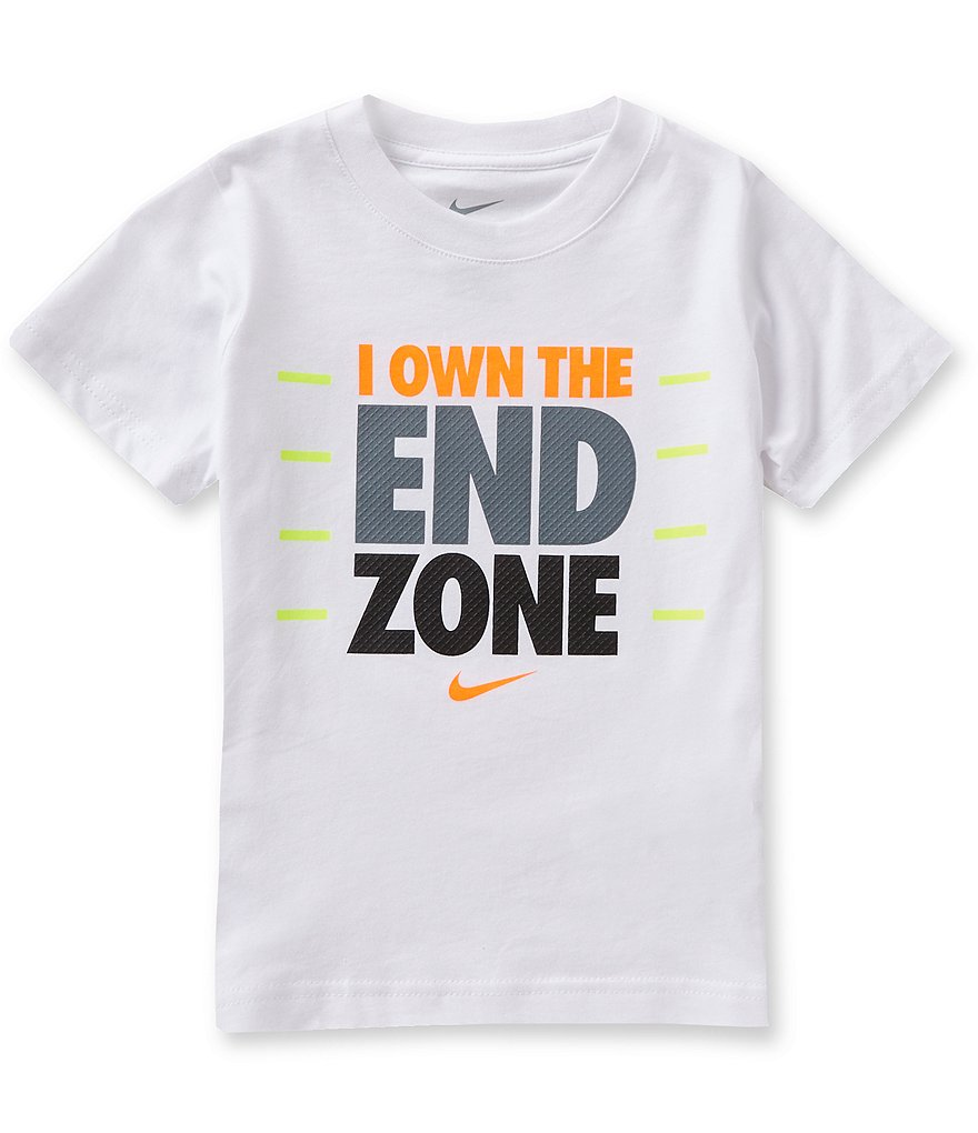 Nike Little Boys 4-7 I Own The End Zone Short-Sleeve Graphic Tee