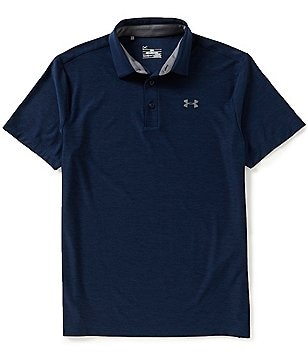 Under Armour Golf Playoff Horizontal Tonal Stripe Polo Shirt