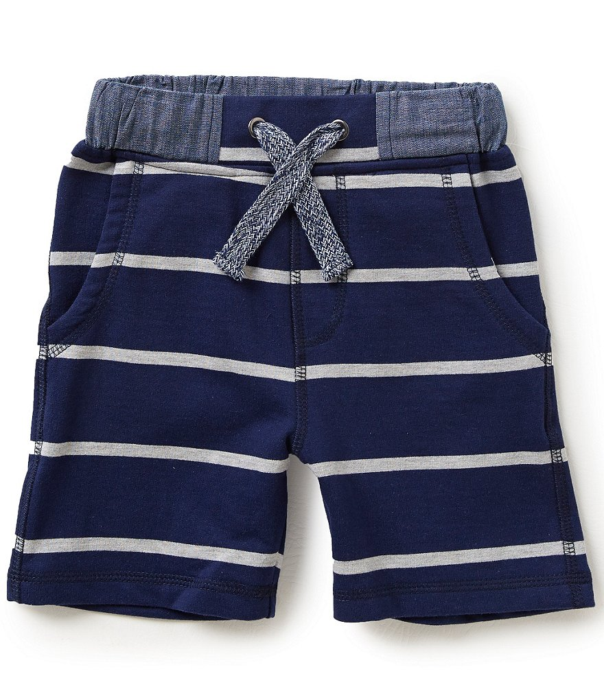 Class Club Little Boys 2T-7 Striped Terry Shorts