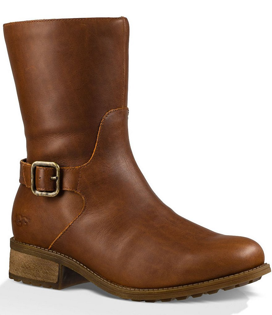 UGG® Keppler Leather Buckle Boots