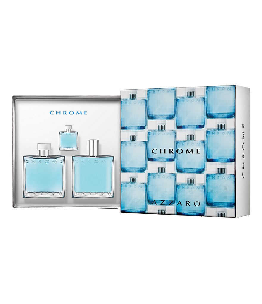 Azzaro Chrome Men Gift Set