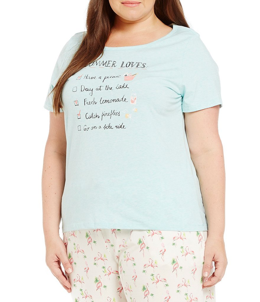 Sleep Sense Plus Summer Loves Jersey Sleep Top