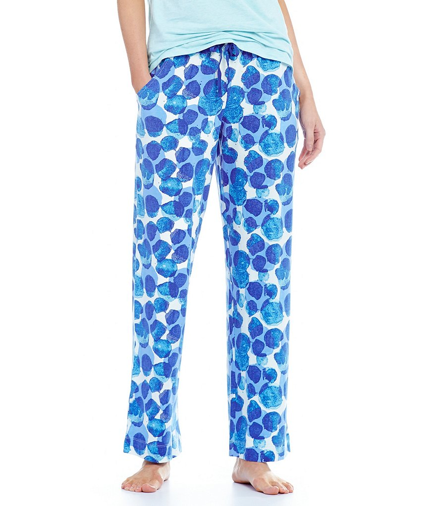 Sleep Sense Dotted Jersey Sleep Pants