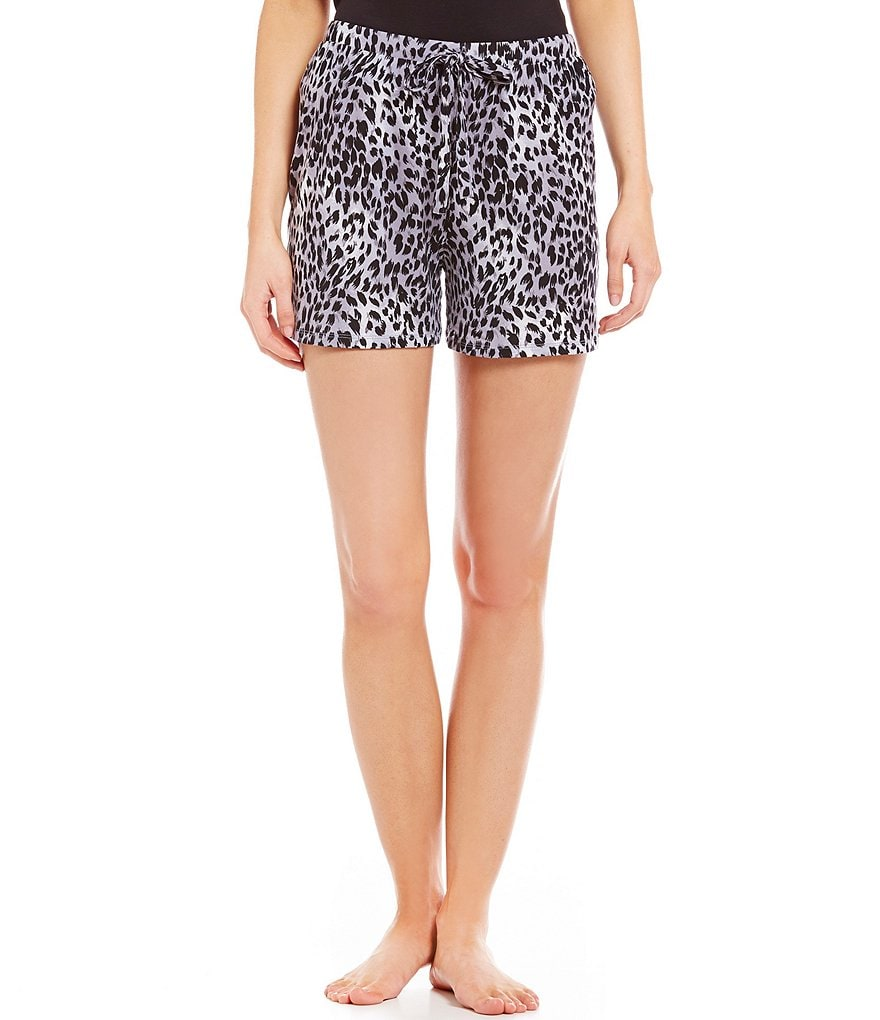 Nottibianche TEMPtations Animal-Print Sleep Shorts