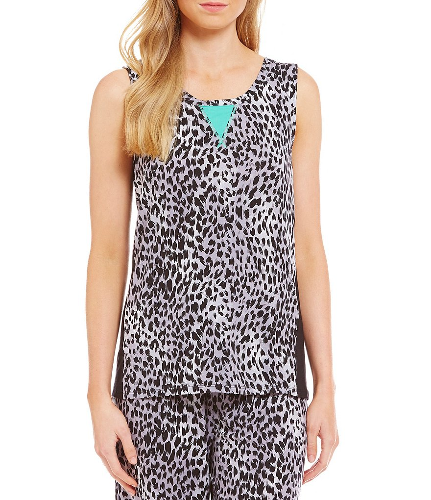 Nottibianche TEMPtations Animal-Print Sleep Tank