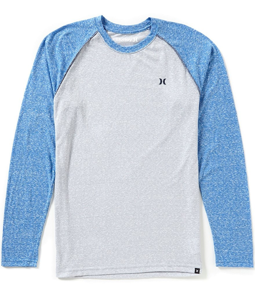 Hurley Icon Stiller Premium Long-Sleeve Raglan Tee