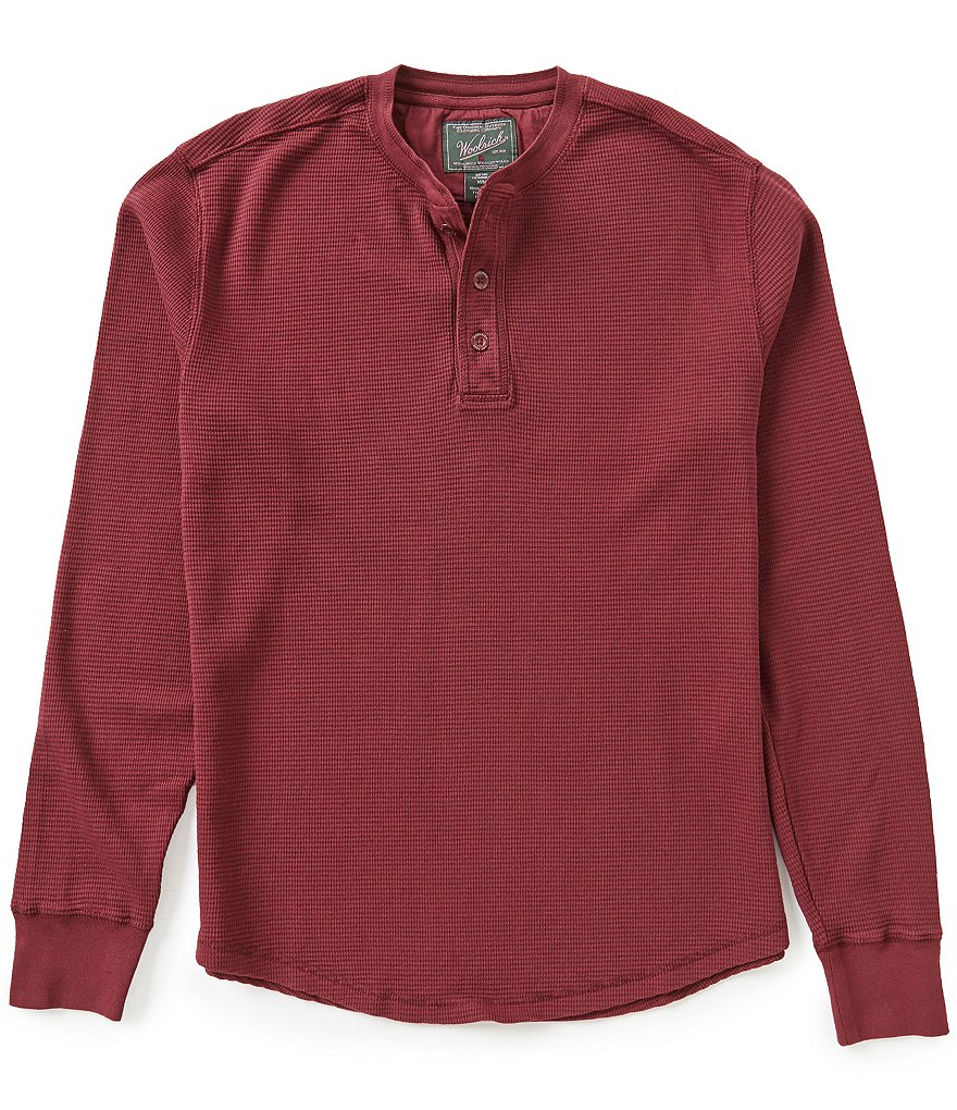 Woolrich Long-Sleeve First Forks Thermal Henley
