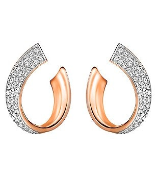Swarovski Exist Pavé Wrap Hoop Earrings
