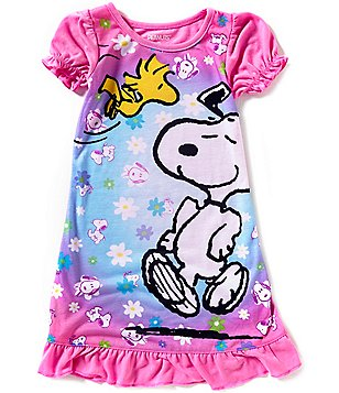 Komar Kids Little Girls 2T-4T Snoopy Nightgown