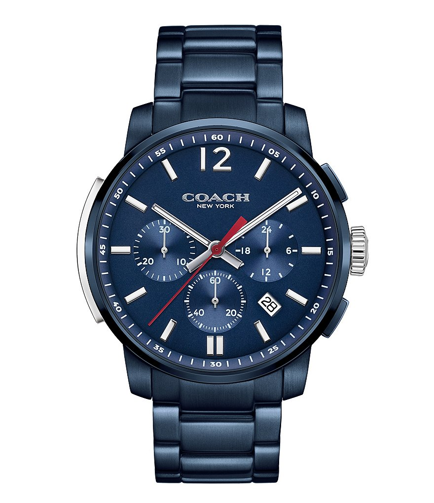 COACH BLEECKER CHRONOGRAPH BRACELET WATCH