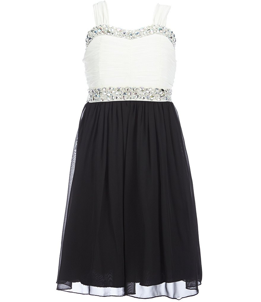 Xtraordinary Big Girls 7-16 Chiffon Party Dress