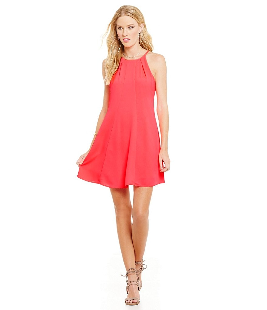 Sugarlips Sleeveless Swing Dress
