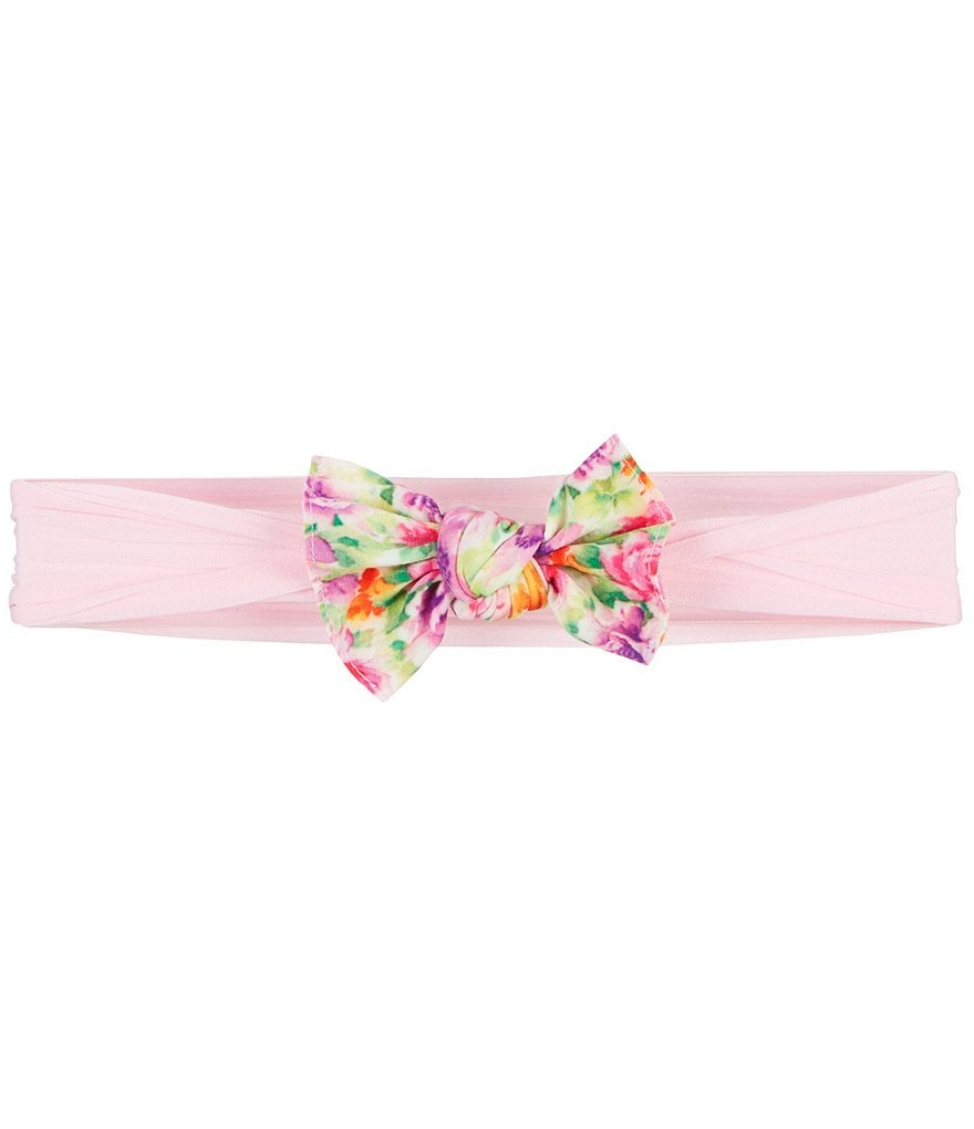 Starting Out Baby Girls Mixed-Print Knotted Headband