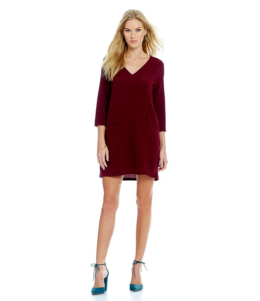 Jack by BB Dakota Andrea Crepe Shift Dress