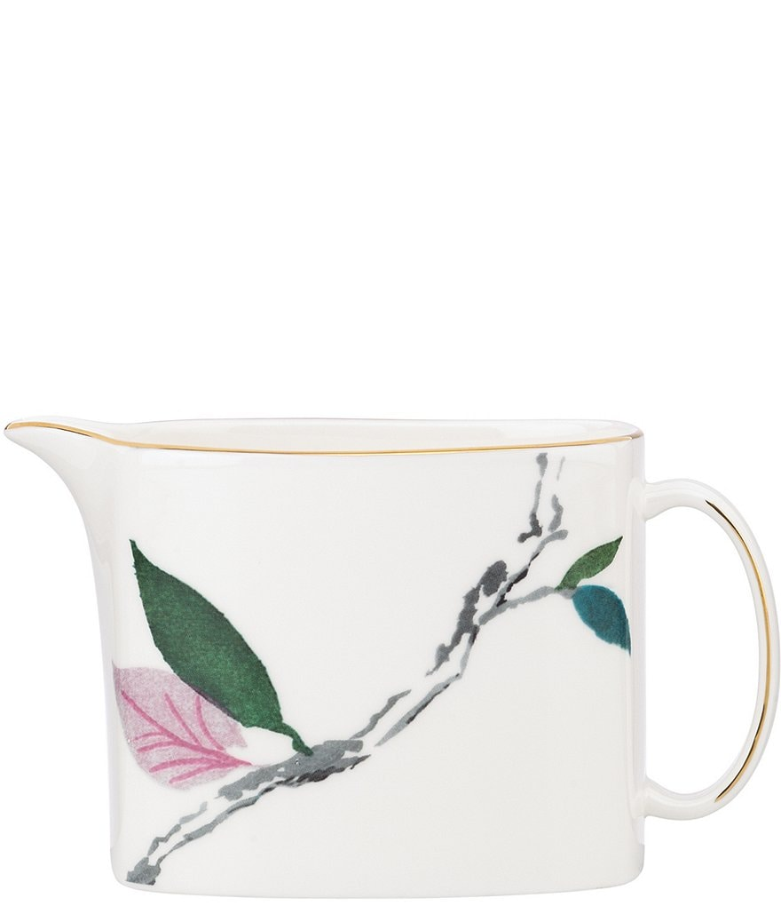 kate spade new york Birch Way Floral Bone China Creamer