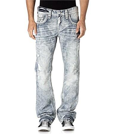 Rock Revival Ocean Straight-Fit Jeans