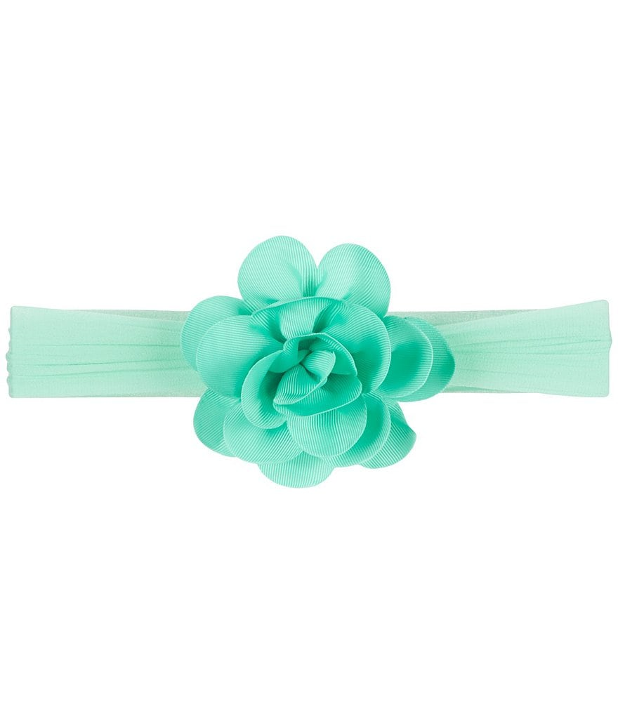 Starting Out Baby Girls Grosgrain Flower Headband