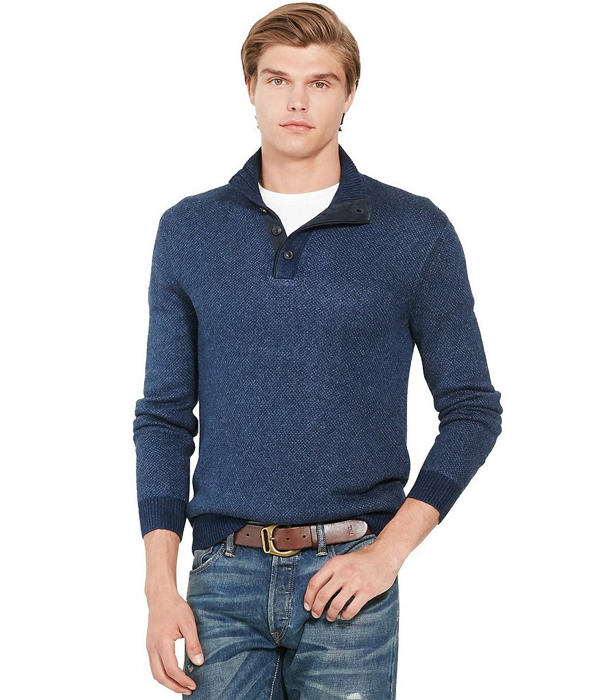 Polo Ralph Lauren Tussah Silk Birdseye Sweater