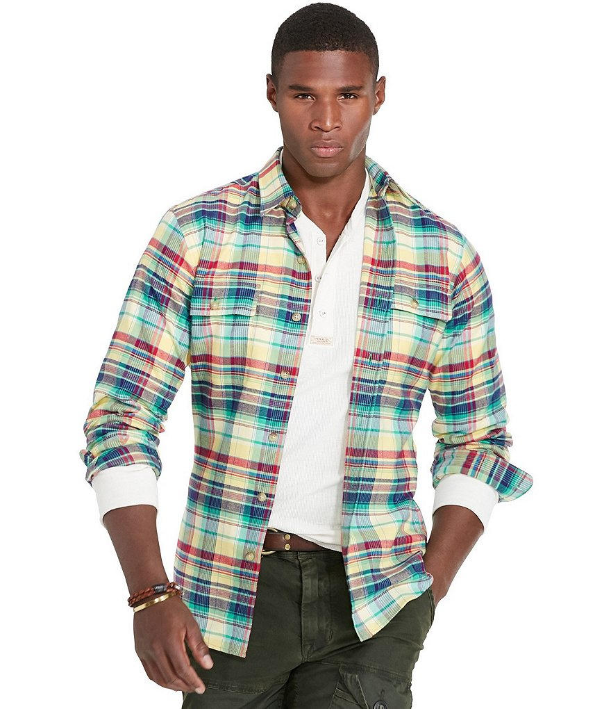 Polo Ralph Lauren Plaid Cotton Twill Workshirt
